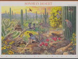 USA (1999) Yv. 2864/73  /  Nature Of America #1 - Fauna - Sonoran Desert - Biodiversity - Briefmarken