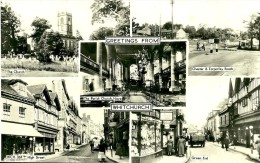 Shropshire.Whitchurch.  Carte Multivues De Whitchurch. - Shropshire