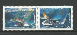 1994 50th Sydney To Hobart Yacht Race Pair   Complete MUH SG Cat 1491/1492   In 2009 SG Cat Value Here - Neufs