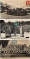 3  CPA  -   Environs De BLOIS  (41)    MENARS  -  LE  CHATEAU  -  L´ Orangerie , Entrée De L´ Allée, La Façade - France