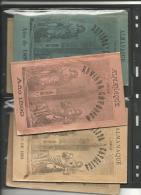 ALMANAQUE DE LA REVISTA CATÓLICA. SEVILLA  AÑOS 1891-1893-1897/99 - Revistas & Periódicos