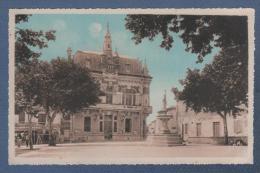 30 GARD - CP JONQUIERES ST VINCENT - MAIRIE - N° 6 - LES CARTES A.P.A. - POUX ALBI - 1948 - Otros Municipios