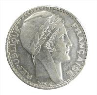 France - 20 Francs - Turin - 1937 - TTB - Argent 680/00 - L. 20 Franchi