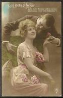 - CPA COUPLES - Les Mots D'Amour - Couples