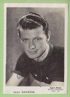 Jean GAVRON, Autographe Manuscrit, Dédicace. 2 Scans. Sport Photo - Cyclisme