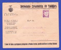 ENVELOPPE --  SOCIEDADE COLUMBÓFILA DE COIMBRA - Covers & Documents