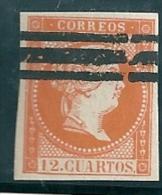 Spain 1856 Used - 1850-68 Kingdom: Isabella II