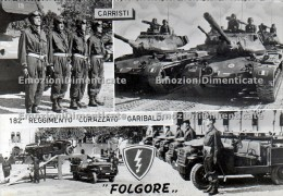 Folgore 182° Reggimento Corazzato Garibaldi Carristi  Sacile - Reggimenti