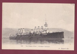 BATEAU GUERRE - 110713 - La JEANNE D'ARC , Croiseur Cuirassé - Guerra