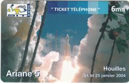 FRANCE - Ariane 5, S.I.T. 2004, Sepatel Promotion Prepaid Card, Tirage 1000, 01/04, Mint - France