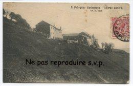- 5 - Pellegrino Garfagnana - Albergo Bunardi, 1914, Peu Courante, écrite, Bon état, Cachet LUCCA, Scans. - Lucca