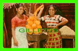 CEYLON, SRI LANKA - FRUIT SELLERS PASYALA - - Sri Lanka (Ceylon)