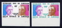 Thème Général De Gaulle - CAMEROUN Yvert 240/241 Neuf Et Non Dentelés Xxx - De Gaulle (Generale)