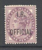 GB, 1882 1d Lilac INLAND REVENUE Very Fine Light MM - Ongebruikt