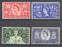 GB, 1953 Coronation Set MM - 1952-.... (Elizabeth II)