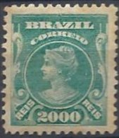2000 R. Bleu-vert Neuf - Ongebruikt