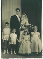Tres Belle Photo De Mariage Format  17 X 12.5 Cm   Dans Les Annee 1960 - Saisons & Fêtes