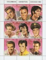 B010 St. Vincent 1991 Elvis Presley s/s