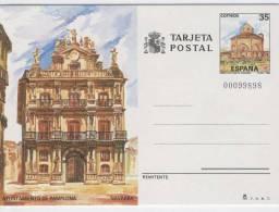SPAGNA  -  Terjeta Postal  -  PAMPLONA - Stamped Stationery