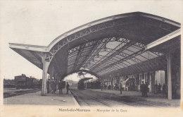 ¤¤  -    MONT-de-MARSAN  -  Marquise De La Gare   -  Chemin De Fer , Trains  -  ¤¤ - Mont De Marsan