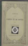 CHOIX DE FABLES ET DE CONTES EN ALLEMAND - Livres, BD, Revues