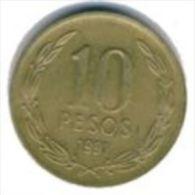 Chile- 10 Pesos - 2012- KM 228.2 - Unc - Chile