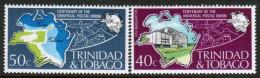 TRINIDAD & TOBAGO    Scott #  243-4**  VF MINT NH - Trinidad & Tobago (1962-...)