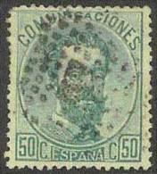 ESPAÑA 1909/22 - Edifil #126 - VFU - 1872-73 Reino: Amadeo I