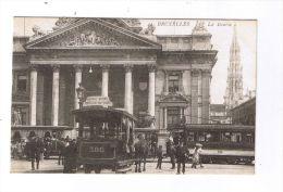 BRUXELLES  -  La Bourse  -  Tramways - België