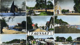 TAUSSAT - GIRONDE  (33) - PEU COURANTE CPSM. - France