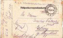 FELDPOSTKORRESPONDENZKART E NO 106, CENSURED 1916, HUNGARY - World War 1 Letters