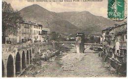 CPA 06*SOSPEL * Le Vieux Pont - Sospel