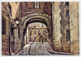 Espagne--MADRID--Arco De Cisneros--Illustrateur Signée,cpm N°107 éd  Asmo SL - Madrid