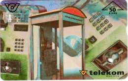 Telekom Austria : Cabin Téléphonique - Téléphones