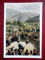 School Holiday - Dance - Pioneers - 1957 - Armenia USSR - Unused - Armenia
