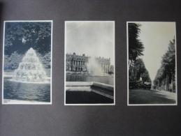 Voyage A Paris 5 Album Pages Avec 30 Foto Ca1900  Biarritz Nice ? Vrai Arbre Restaurant  Original Photo Postcard Size - Albumes & Colecciones