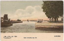 Aveiro - Trajes - Um Trecho Da Ria - Aveiro