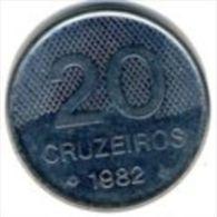 Brazil- 20 Cruzeiros - 1982 - KM 593.1 - Vz+ - Brasilien