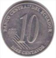 Ecuador- 10 Centavos - 2000 - KM 106 - Vz - Ecuador