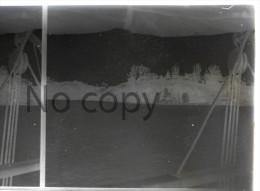 Indochine 1930 - Singapour Singapore - Marina Bay From Boat -  Colons Français - Stereo Sur Verre - Stereoview - Plaques De Verre