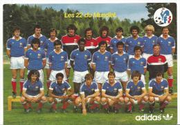 Sport :  FootBall :   L ´  équipe  De  France Les  22  Du  Mondial - Fútbol