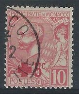 EE-/-368- CROIX ROUGE - N° 26, OBL. ,  Cote 9.50 € ,  Voir Scan Pour Detail  , A Saisir - Monaco