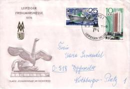 DDR / GDR - Umschlag Echt Gelaufen / Cover Used (s431) - [6] Democratic Republic