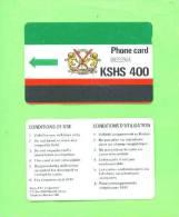 KENYA - Autelca Magnetic Phonecard/400 Units - Kenia