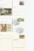 Germany - Postal Stationeries.  3 Cards.  # 344 - Postcards - Mint