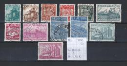 Export 1948 YT/OCB 761/72 Gest./obl./used - Belgium
