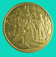 France - Médaille  -   Napoléon Ier - Empereur Et Roi - Sup -  Belle Dorure - Royal / Of Nobility
