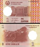 TAJIKISTAN 10 SOMONI 1999 ( 2013 ) PICK NEW UNC - Tayikistán