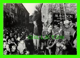 CYCLISME - CYCLO-CROSS DE LA ROCHEPOT (21) - 1 NOVEMBRE, 1984 - MICHEL LAURENT, ALAIN PETIT, PIERRE-YVES DUXELIER - - Cyclisme