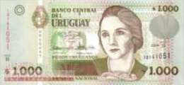 Uruguay - 1.000 Pesos Uruguayos (UNC) Date: 2004 - Uruguay